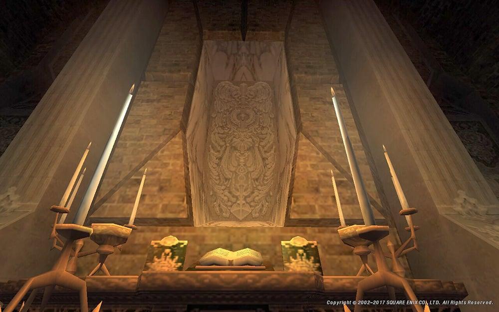 ジュノ上層の教会