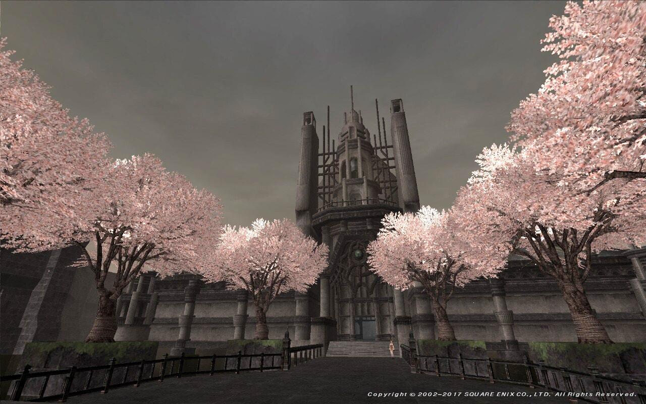 サンドリアの桜
