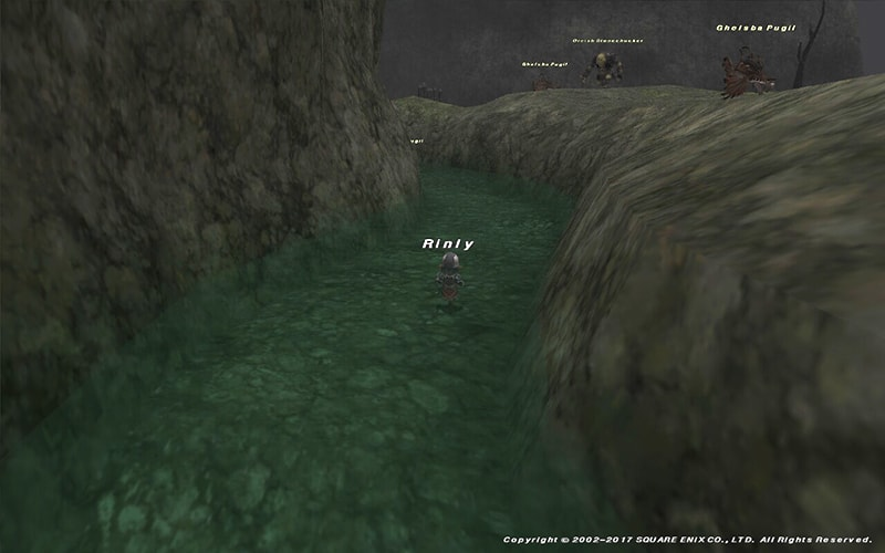 ゲルスバの川
