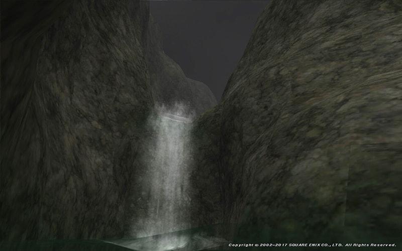 ゲルスバ野営陣の滝