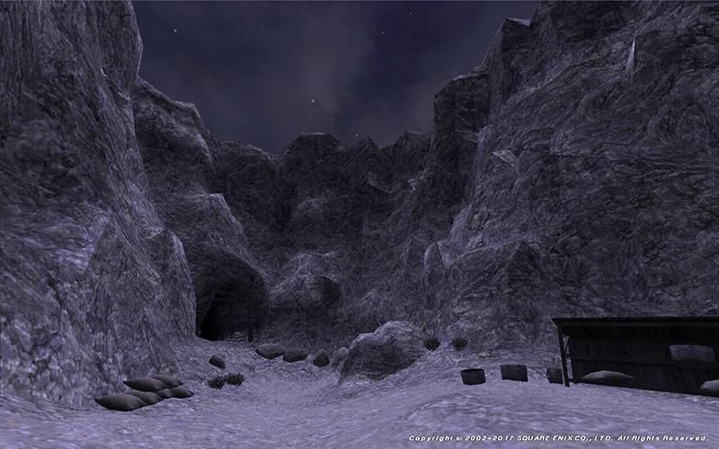 パルブロ鉱山入り口
