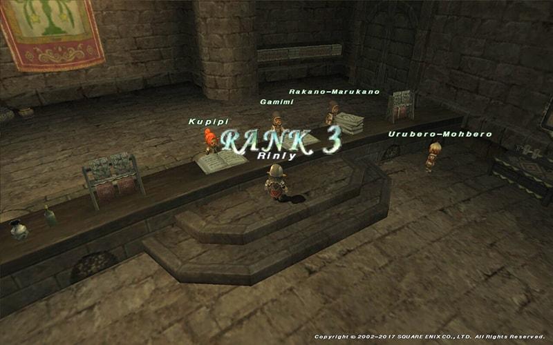 ウィンダスミッションランク3
